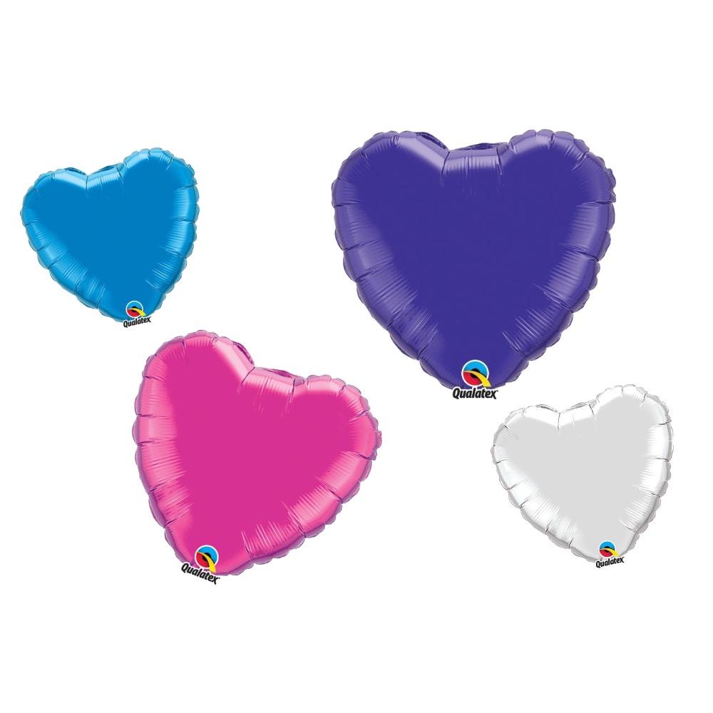 Einfarbige Folienballons
