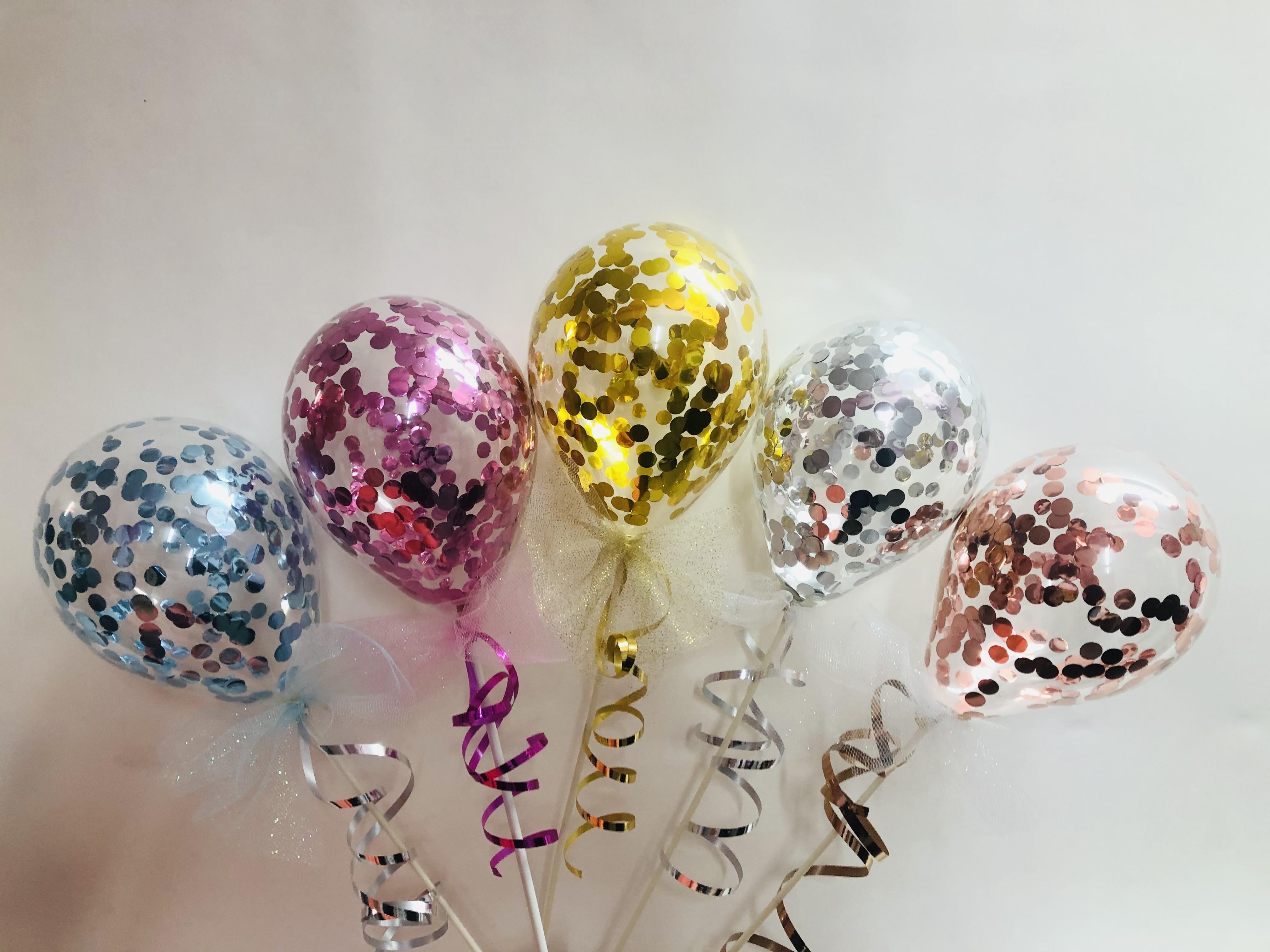 Konfetti Ballons (Luft)