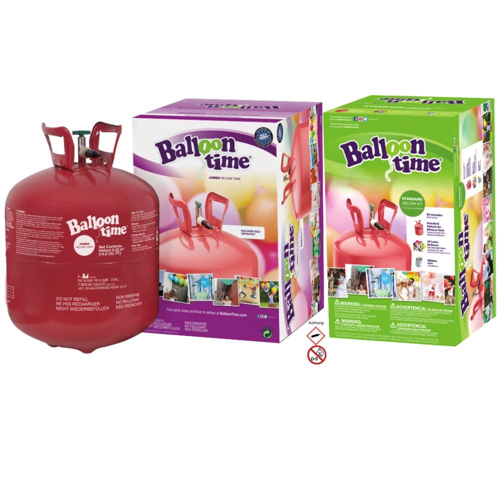 Helium Einwegflaschen