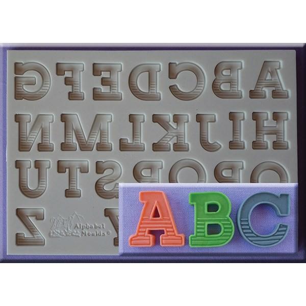 alphabet moulds silikonform gradient font buchstaben zahlen buchstaben silikon moulds. Black Bedroom Furniture Sets. Home Design Ideas